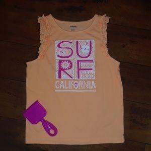 Gymboree girls SURF beach Tank Top sz 10